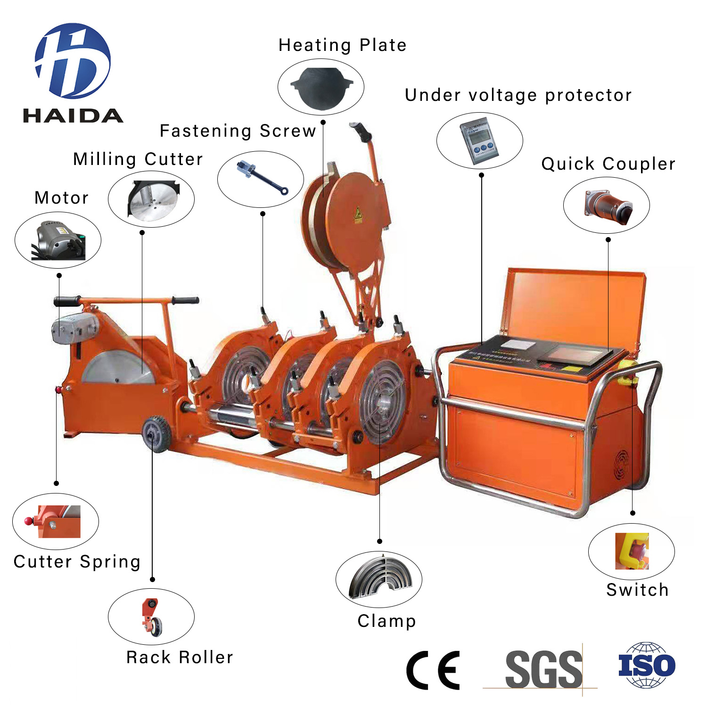 HD-QZD400 FULL AUTOMATIC BUTT FUSION WELDING MACHINE