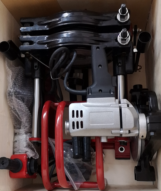 2 sets of Manual Operation Butt Fusion Welding Machine send to Pakistan