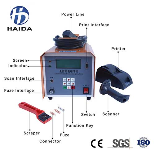 HD-DRHJ 200 ELECTRICFUSION WELDING MACHINE