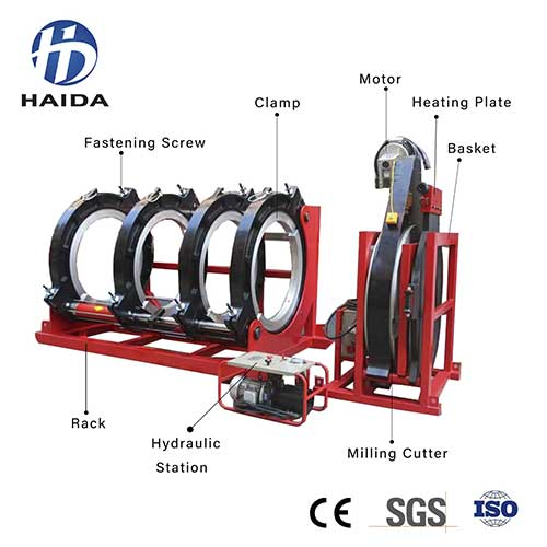 HD-YY1200 HYDRAULIC BUTT FUSION WELDING MACHINE