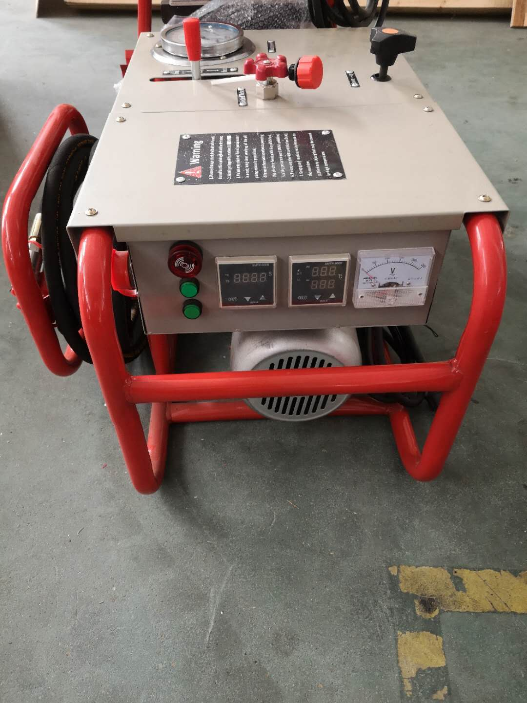 2 sets of Our SEMI-AUTOMATIC (HYDRAULIC )Butt Fusion Welding Machine ship for Tunisia